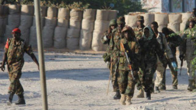 Askarta AMISOM ee Midowga Afrika