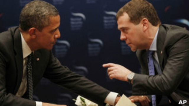 اوباما - مدودف