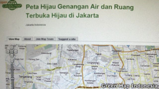 Peta Hijau Jakarta