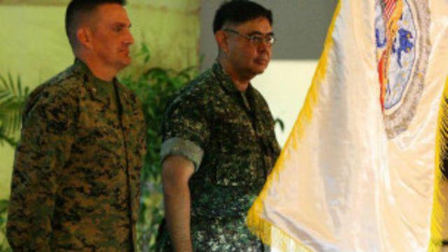 美國和菲律賓軍演