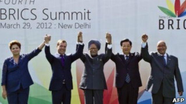 Mandatarios de los BRICS