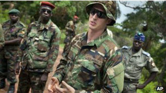 Majeshi ya Marekani yanayoshauri wanajeshi wa Uganda  katika msako dhidi ya Kony