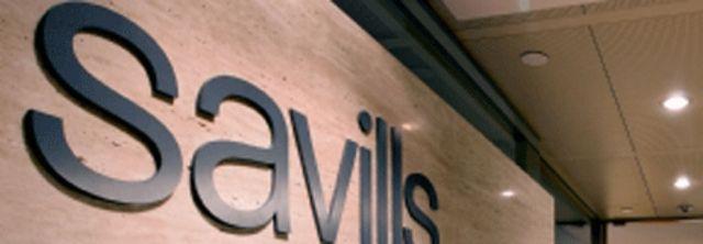 Logo của Công ty bất động sản Savills của Anh (Ảnh: từ trang web của Savills)