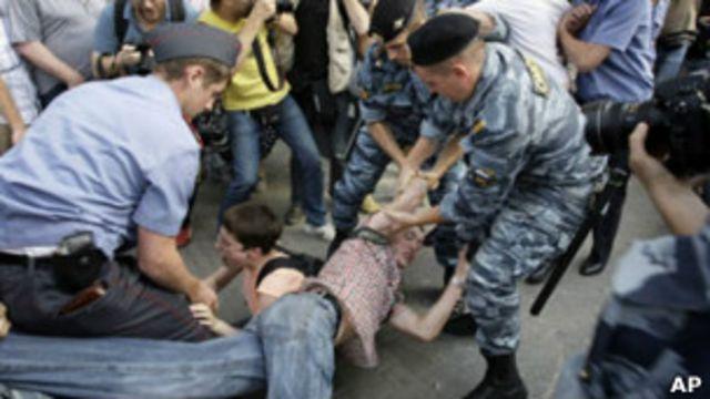 """Полиция во время """"Марша миллионов"""""""