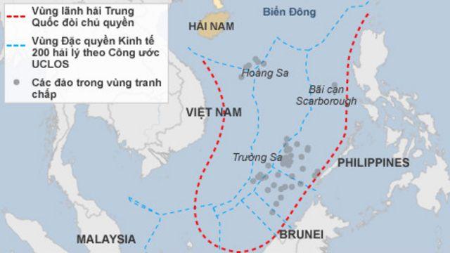 Trung Quốc đang muốn biến đường lưỡi bò trên bản đồ thành sự thật