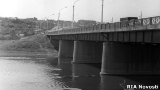 Мост через реку Тузлов в Новочеркасске