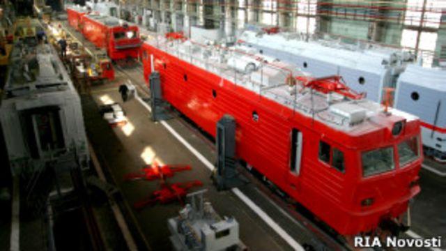 В цехе Новочеркасского электровостроительного завода