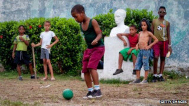 Кубинские дети