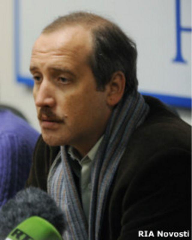 Журналист Сергей Соколов