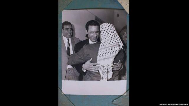 Taronsu da Yasser Arafat