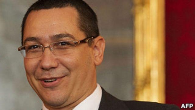 El primer ministro rumano, Victor Ponta