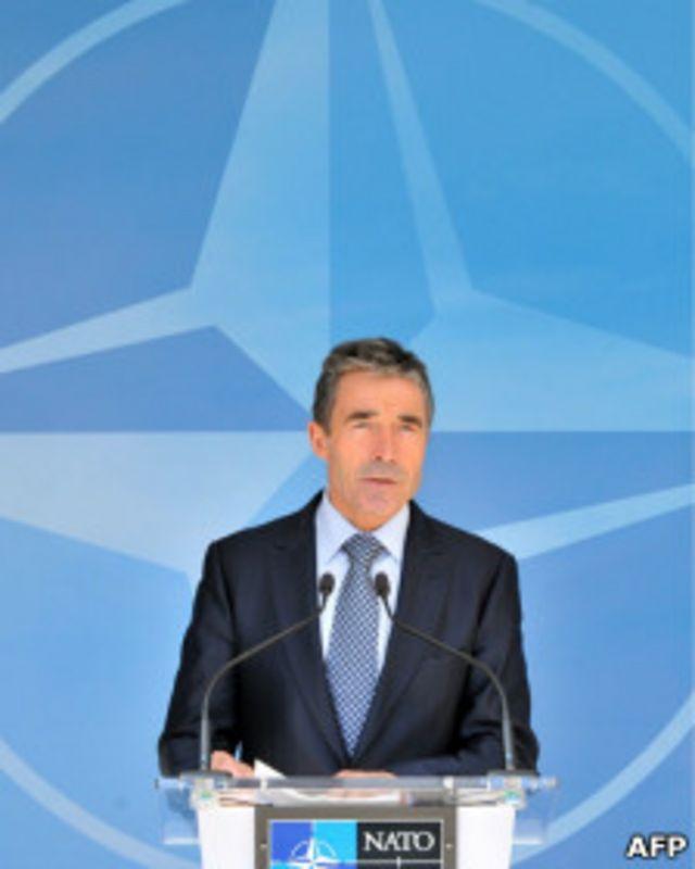 Генсек НАТО Рассмуссен