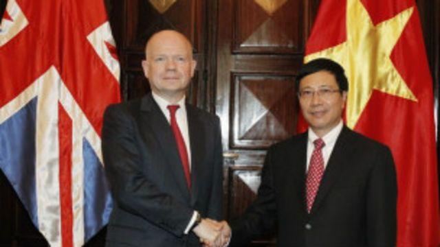 Anh hiện là một trong các đối tác chiến lược của Việt Nam.