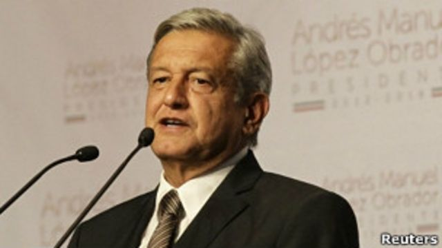 Andres Manuel Lopez Obrador ဒုတိယ ဖြစ်နေလို့ မဲပြန်ရေခိုင်း