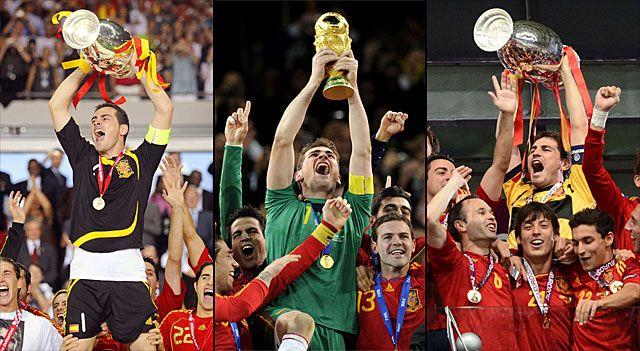 Casillas levanta las Copas