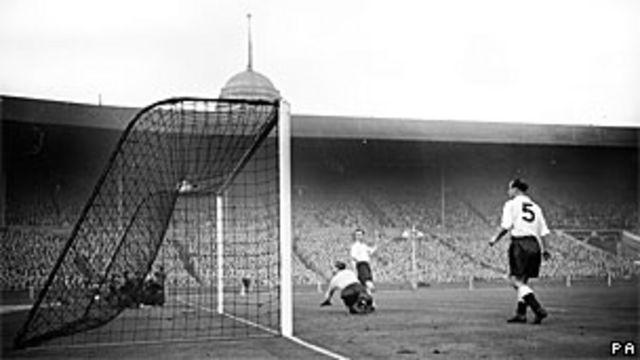 Uno de los goles contra Inglaterra.