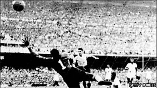 Uruguay superó a Brasil en 1950.