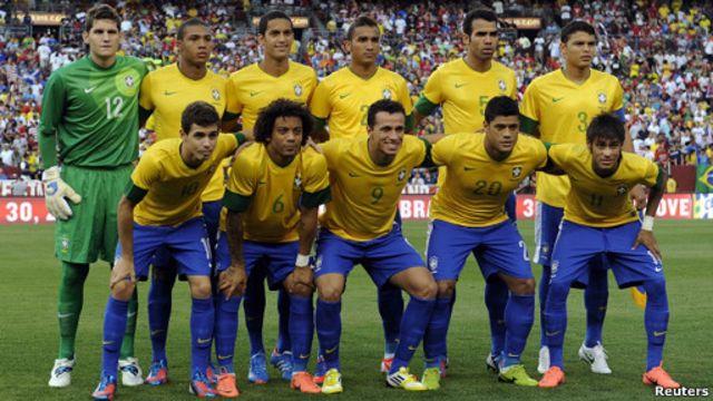 Timnnas Brasil berambisi raih emas Olimpiade London 2012.