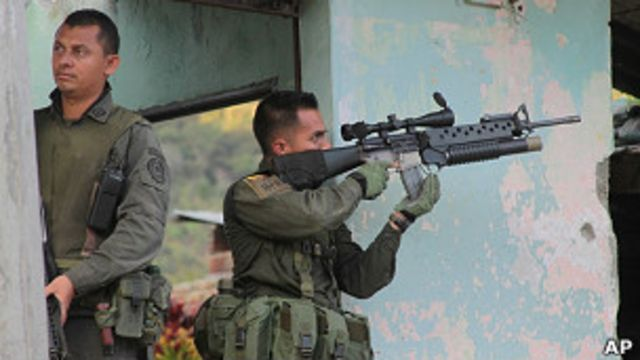 Militares en Toribío
