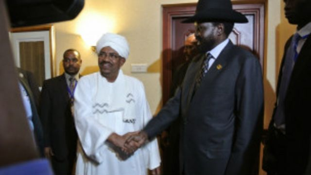 Al Bashir da Salva Kirr