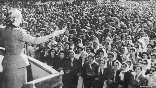 60 años de la muerte de Eva Perón