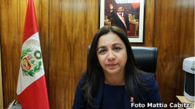 Marisol Espinoza: hay sospechas de que la propia vicepresidenta peruana fue blanco de espionaje.