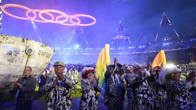 مراسم افتتاحیه بازی های المپیک 2012 در لندن