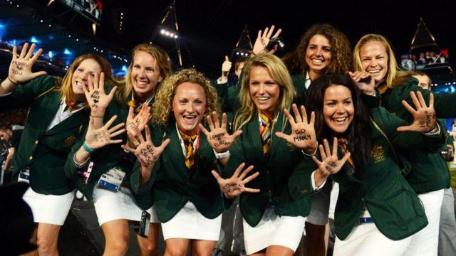 ورزشکاران استرالیا