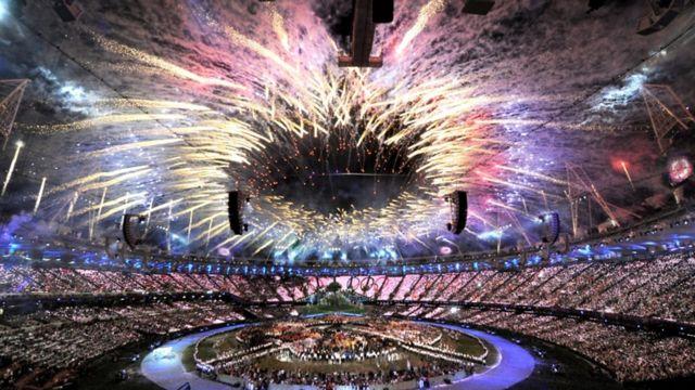 مراسم افتتاحیه بازی های المپیک 2012 لندن نزدیک به چهار ساعت طول کشید