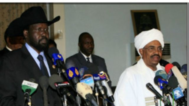 Al-Bashir da Kiir