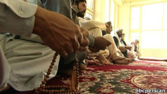 یک جرگه سنتی در افغانستان