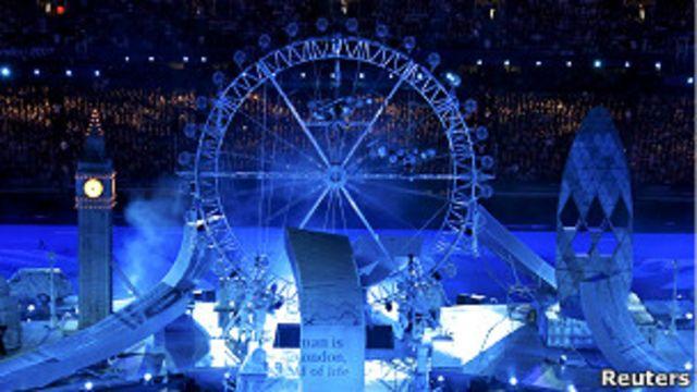 Церемония закрытия Олимпиады в Лондоне
