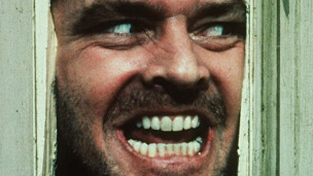 शाइनिंग पिक्चर में जैक निकॉल्सन.