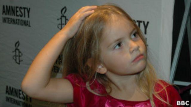 Дочь участницы группы Pussy Riot Надежды Толоконниковой 4-летняя Гера