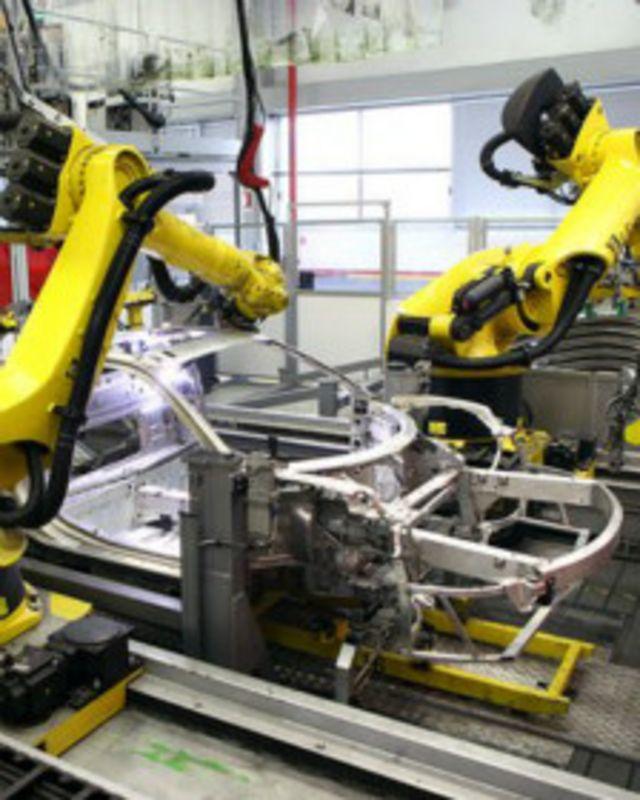 Конвейер на заводе Ferrari