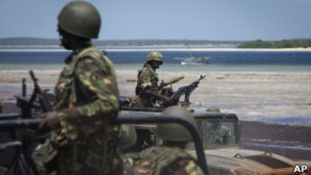 Igisirikare ca Kenya cateye hakurya y'urubibe muri Somalia