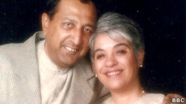 शहनाज आनंद अपने पति टीनू आनंद के साथ.