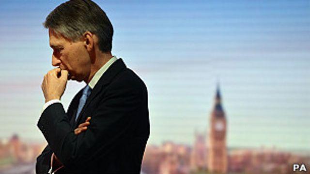 وزير الدفاع البريطاني في برنامج اخباري في بي بي سي