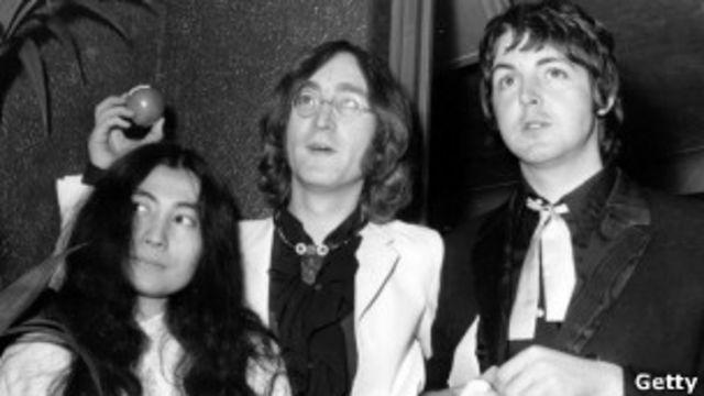 Йоко с Джоном и Полом