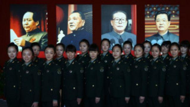 Chính trị Trung Quốc thể hiện sự tiếp nối rõ ràng của các thế hệ lãnh đạo