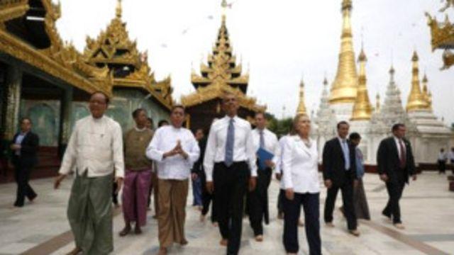 Chuyến thăm của các lãnh đạo cấp cao của Mỹ tới Miến Điện là điều mà cả chính phủ ông Thein Sein cũng không ngờ tới