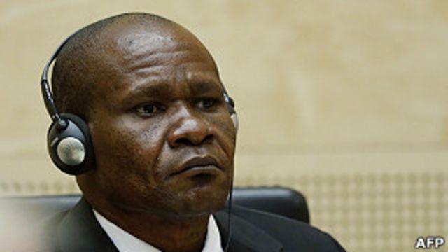 Mathieu Ngudjolo Chui ancien chef de milice congolais