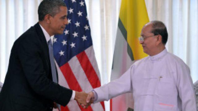 Ông Thein Sein thăm Hoa Kỳ trong năm ngoái.