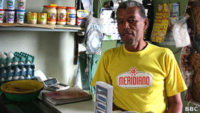 Heraldo Rodrigues da Silva, de 55 años.