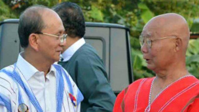 ကေအန်ယူ ဥက္ကဌ နဲ့ သမ္မတ ဦးသိန်းစိန်တို့ အခုနှစ် အစောပိုင်းက နေပြည်တော်မှာ တွေ့ဆုံ