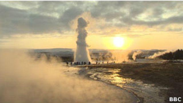 Manantiales de aguas termales en Islandia