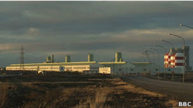 Industria en Islandia