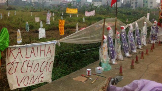 Chính quyền và người dân ở Dương Nội vẫn bế tắc xung quanh tranh chấp đất đai