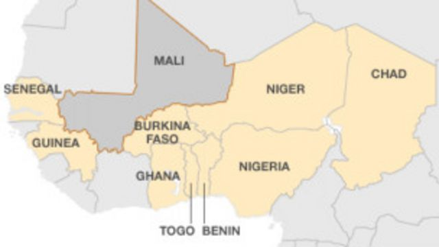 Los vecinos de Mali