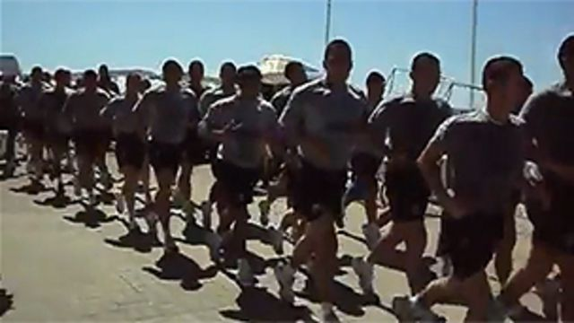 Video de presuntos militares chilenos
